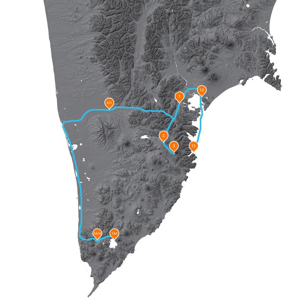 Подробная карта