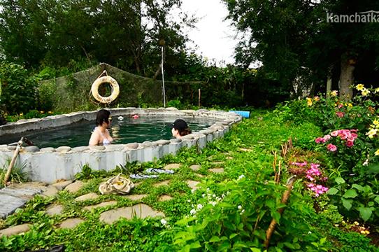 Термальный бассейн на Паужетке