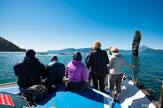 на борту судна в поисках касаток