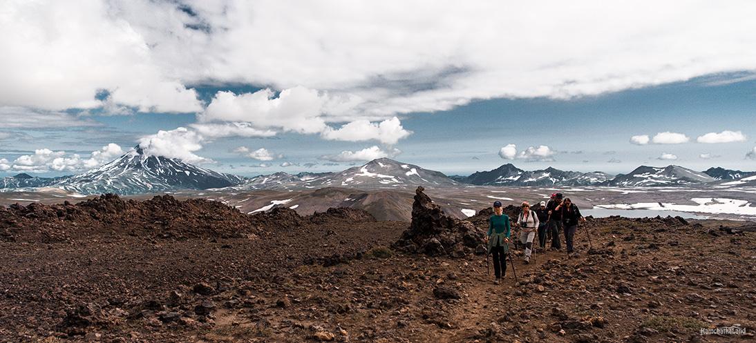 несложный подъем на вулкан Горелый